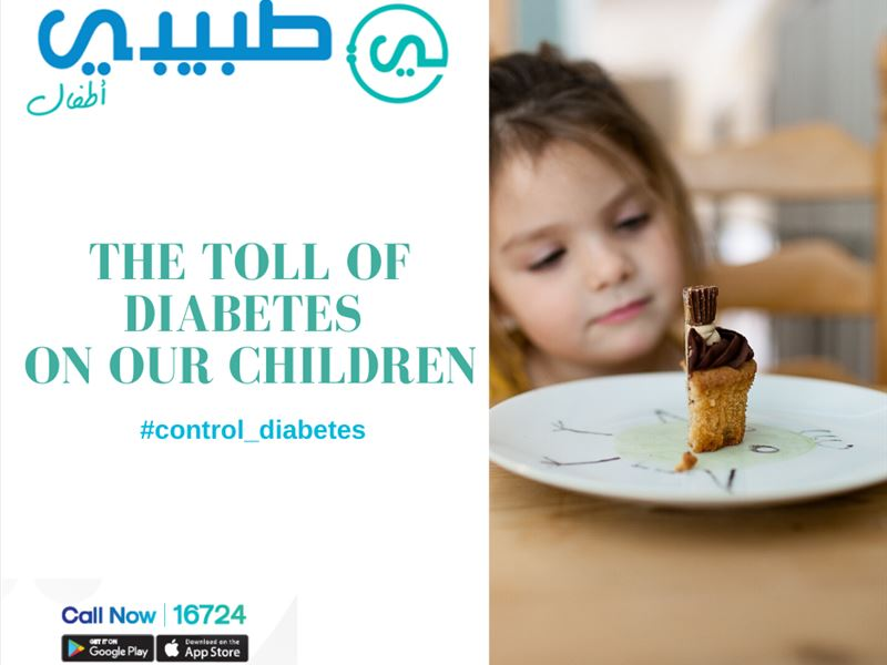 Toll of Diabetes on children.