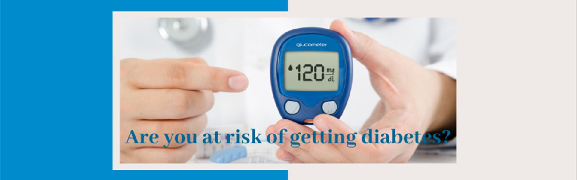 Are you at risk of diabetes?